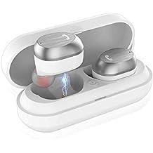 LIFEGOO mini auriculares bluetooth 5.0 ,tws auriculares inalambricos Manos Libres y Cancelación de Ruido con