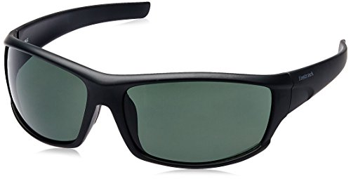 Fastrack UV Protected Wrap Men\'s Sunglasses - (P223GR1|57|Grey)