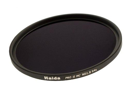 Haida PRO II Serie MC (mehrschichtvergütet) Neutral Graufilter ND64 - 72mm - Inkl. Cap mit...