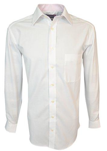 Brook Taverner -  Camicia classiche  - Uomo Bianco