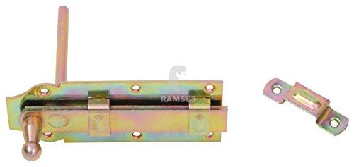 EisenRon DS-tec - Stallriegel mit Stift 160 mm Stahl verzinkt 1 Stück