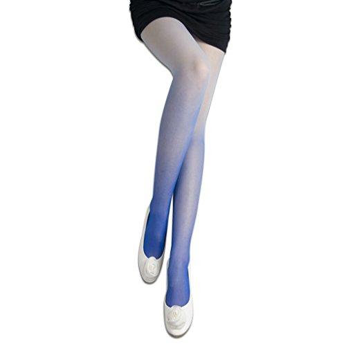 xiang-femmes-transparent-decoloration-gradient-couleur-velours-bas-collant-collants-chaussettes