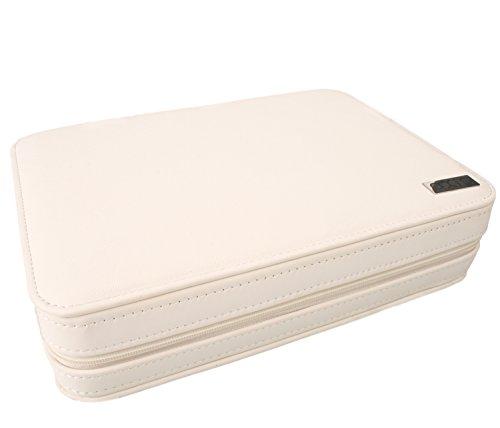 AXIS® weiß 8Uhren Reisebett Luxus Display Box Case