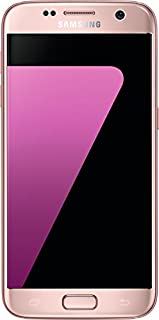 Samsung Galaxy S7 Smartphone (12,92 cm (5,1 Zoll) Touch-Display, 32GB interner Speicher, Android OS) pink (B01E1QUFBM) | Amazon price tracker / tracking, Amazon price history charts, Amazon price watches, Amazon price drop alerts
