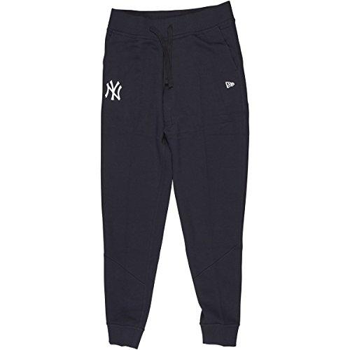New Era Mlb York Yankees Logo, Pantaloni Sportivi Uomo, Blu (Navy), Large