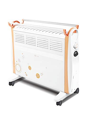 LANLAU Calentador De Radiador Convector, Calentador De Aire Caliente Vertical, Calefacción De Doble Cara, Control De Temperatura Inteligente