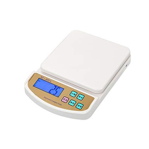 GLJJQMY Precision Home Küchenwaage Plug-in Backen Skala Essen Elektronische Waage Elektronische Waage (Size : 5kg)