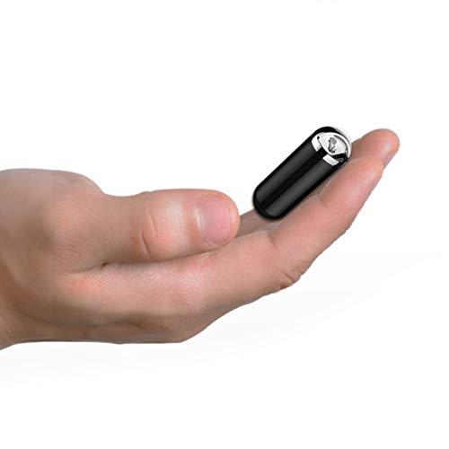 Diktiergerät Digital Voice Recorder, Mini-Digital-MP3-Player Kugel Schlüsselanhänger Shaped U-Flash-Laufwerk Für Studenten Und Kinder (schwarz) (größe : 32GB)