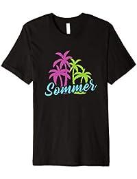 SOMMER T-SHIRT Urlaub Ferien Pool Meer Schwimmbad Palme