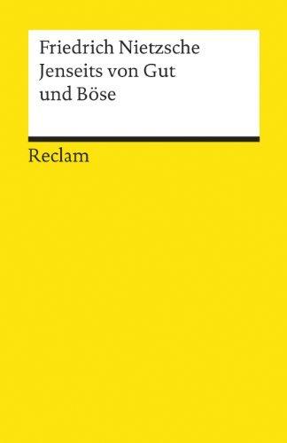 Ullstein Taschenbucher: Jenseits Von Gut Und Bose by Nietzsche (May 13, 1998) Paperback