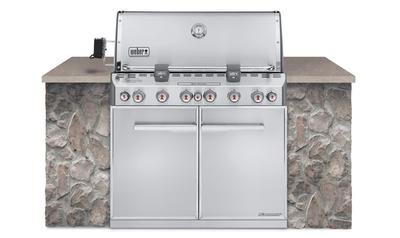 WEBER Gasgrill Summit S-660, Built-in Version
