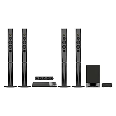 Sony BDV-N9200W 5.1 Home Audio System Home Cinema Blu-ray (1200 Watt, 4K UltraHD Upscaling, 3D, WiFi, Smart TV, Bluetooth, NFC, Spotify) black