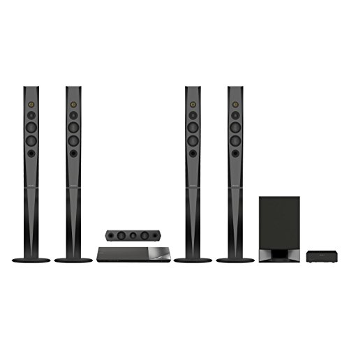 Sony BDVN9200WB 5.1 Blu-ray Heimkinosystem (S-Master HX Digitalverstärker, 1200 Watt, 3D, WLAN, Smart TV, Bluetooth, NFC, Spotify, WiFi) schwarz Ps3-home-theater