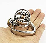 Chastity Belt for Male - Metal Penis Cage (ring Ø 45 mm)