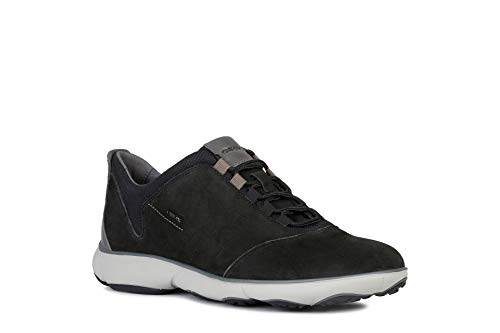 Geox Herren U Nebula C Sneaker, Schwarz (Black C9999), 42 EU