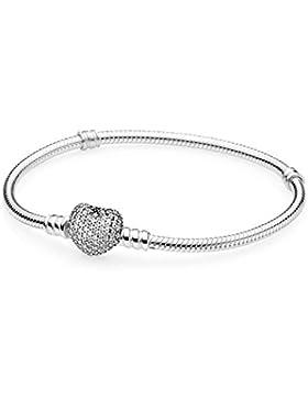 Pandora Damen-Armband 925 Silber Zirkonia weiß 20 cm-590727CZ-20