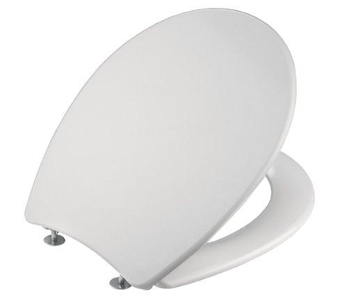Cornat WC-Sitz CORTO weiß / Toilettensitz / Toilettendeckel / Klodeckel / WC-Deckel / Duroplast / KSKC00