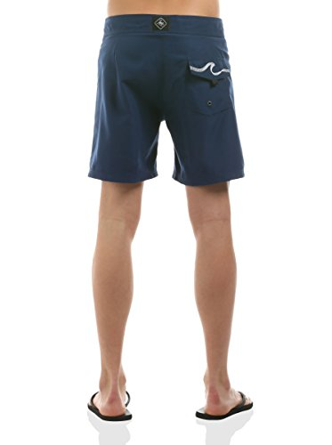 Hot Buttered - Pantaloncino mare BONDI BEACH, Uomo Blu navy