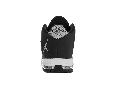 Nike Jungen Jordan Flight Origin 3 Bg Basketballschuhe Black (Black (schwarz / silber-metallic-reines Platin))