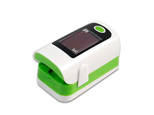 Vetrineinrete® Pulsossimetro portatile digitale con led rossi calcolo ossigenazione sangue sp02 e BPM saturimetro pinza per dito Ossimetro controllo frequenza cardiaca e pulsazioni D89