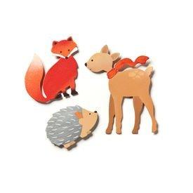 Embellish Your Story Forest Animal Magnets Set