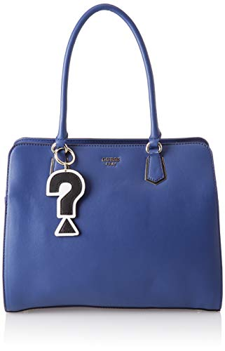 Guess Felix, Borsa a Spalla Donna, Blu (Blue), 34x28x15.5 cm (W x H x L)