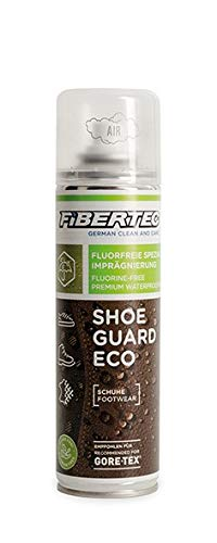 Fibertec Shoe Guard Eco 200ml | fluorfreie Imprägnierung, Imprägnierspray für Schuhe (Guard Sneaker)