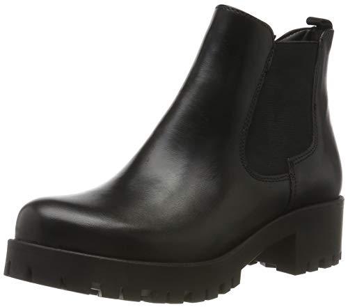 Tamaris Damen 1-1-25400-23 Stiefeletten, Schwarz (Black Leather 3), 42 EU