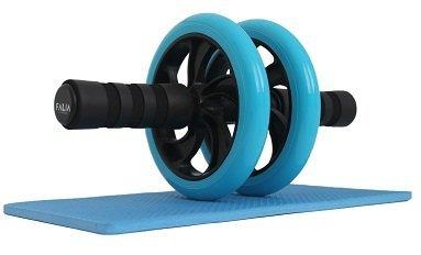 FALIA [BAUCHROLLER] Bauchtrainer - AB Roller INKLUSIVE Knieauflage für Deine Fitness - Ganzkörpertrainer für Anfänger und Fortgeschrittene + 3 Jahre Garantie