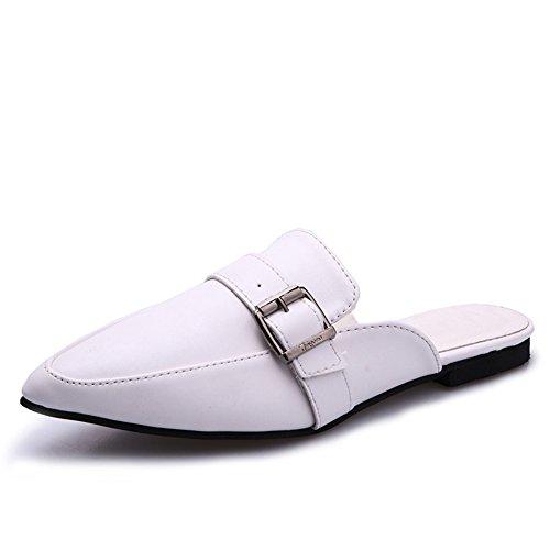 Vintage de vent a fait sandales d'Angleterre/Chaussures de Fang Kouping au printemps et en été/pantoufles de semi sauvages paresseux A