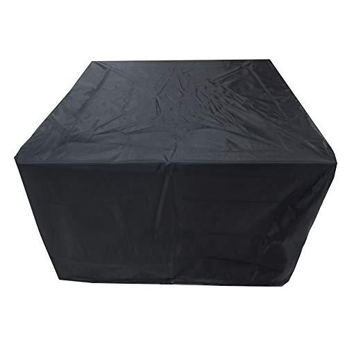 YXX- Couvertures de meubles Table et housse imperméables antipoussière carrées de patio extérieur de couvert de meubles de jardin extérieur, tissu de 210D Oxford (taille : 213x132x74CM)