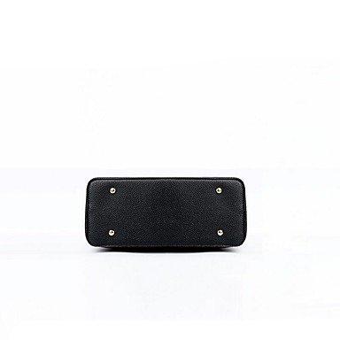 Damenmode PU Leder Schulter Messenger Crossbody-tasche Sets/Handtasche Tote Gray