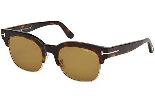 Tom Ford Männer FT0597 Harry Sonnenbrille w/braun Objektiv 56E TF597 Havana groß