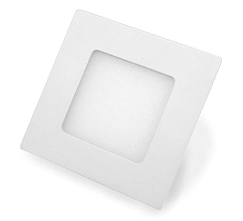 LED Panel, Carré avec 4 W Performance, encastrable, blanc chaud, 8,6 cm - type : Economy sq040 86ww
