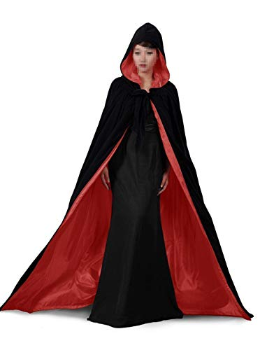 Special Bridal Renaissance Umhang mit Kapuze Umhang Hexe Umhang Vampir Kostüm Umhang mit ()