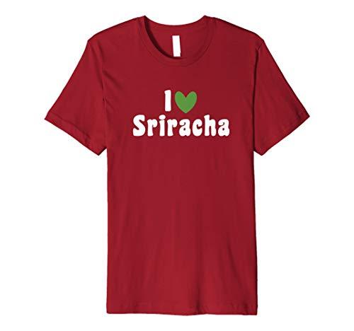 I love Sriracha-Sommer Sauce Lover Schönes lustiges Halloween-Tee