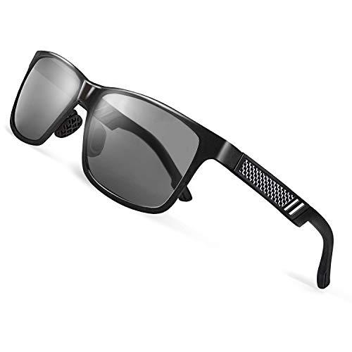 CGID Al Mg Legierung Tempel Modische Metallrahmen Stil Polarisierte 100% UV400 Schutz Sonnenbrillen Für Herren Und Damen Unisex GD60