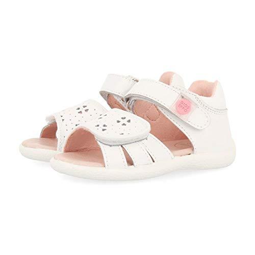 Gioseppo 48661, Sandalias Bebé-para Niñas, Blanco