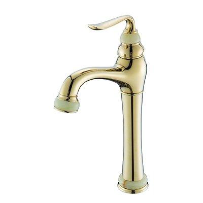 Retro Deluxe Fauceting fashion hochwertige Rose Gold fertigen Warenkorb kalte und warme Einhebelsteuerung, Waschbecken Armatur Waschtisch Armatur geschnitzt, Messing, Stil 8.