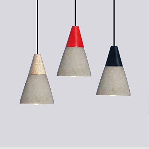HAMIMI Zement-Leuchter-Möbelkunst der Kaffeeindustriepersönlichkeitskunstweinlese Leuchter (Color : A)