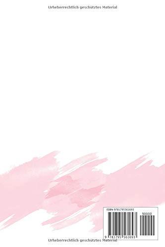 Fröhlichen Valentinstag: Das perfekte Geschenk. Liniertes Notizbuch. Goldbuchstaben. 15,3 cm x 23 cm, (6 x 9 in.), 110 linierte Seiten.