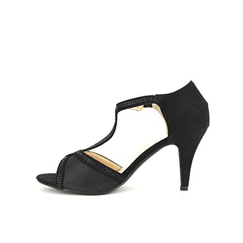 Cendriyon Escarpin Noir Coco Chic Chaussures Femme Noir