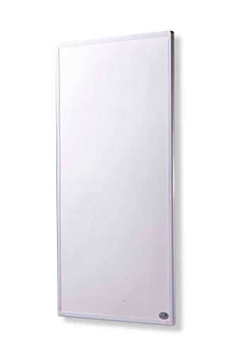 Infrarot Heizung 300 Watt mit Digital- Thermostat - schlichten weißen Rahmen - deutscher Hersteller und vom Tüv Süd GS geprüft -neueste Technologie - 30 Tage Zufriedenheitsgarantie - 5 Jahre Herstellergarantie- Elektroheizung mit Überhitzungsschutz -Überprüft durch deutsche Ingenieurgesellschaft- Fern Infrarotheizung Heizt bis 3-8m²