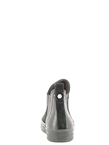 Hilfiger Denim - L1385yon 14c, Scarpe da ginnastica Donna Nero