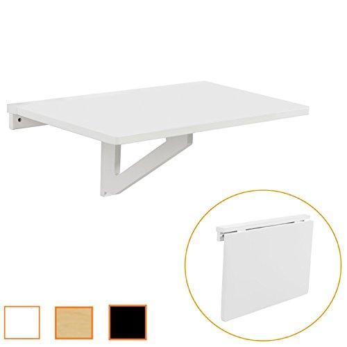 Sobuy® tavolo pieghevole a muro,scrivanie, tavolo per computer,tavolo da cucina,senza sedia, fwt03-w,it