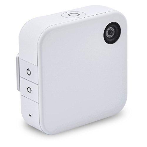 DealMux clip su Mini Digital Video 1080P HD w built-in Wi-Fi telecamera indossabile Autorizzato da Qlippie