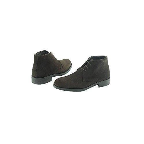 Boots Homme Marron à lacets - Corte - Vitelo ® N-Marron