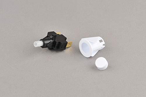 BSD Zündungschalter Zündschalter für Herd Gasherd Kochfeld WP-6B.1 - Weiß