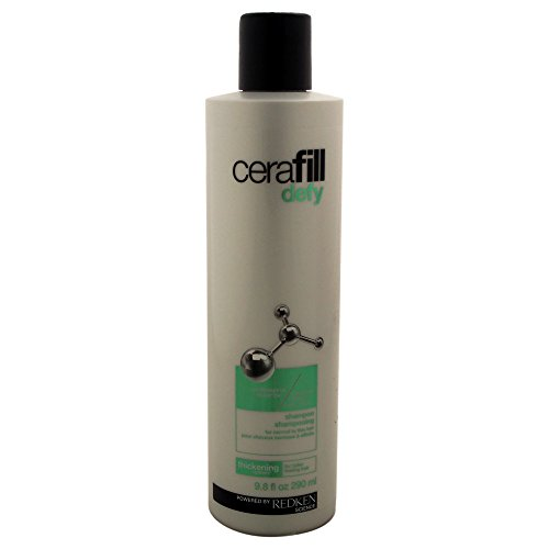 Redken Cerafill Defy - hair shampoos (Shampoo, Normal hair, Thin hair, Strengthening, Zinc PCA, Ceramide, SP-94, Use daily on wet hair. Massage into a lather. Rinse thoroughly.)