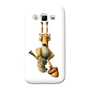 coque Samsung Galaxy Grand / Grand Plus Dessin animé - - Scrat Blanc -